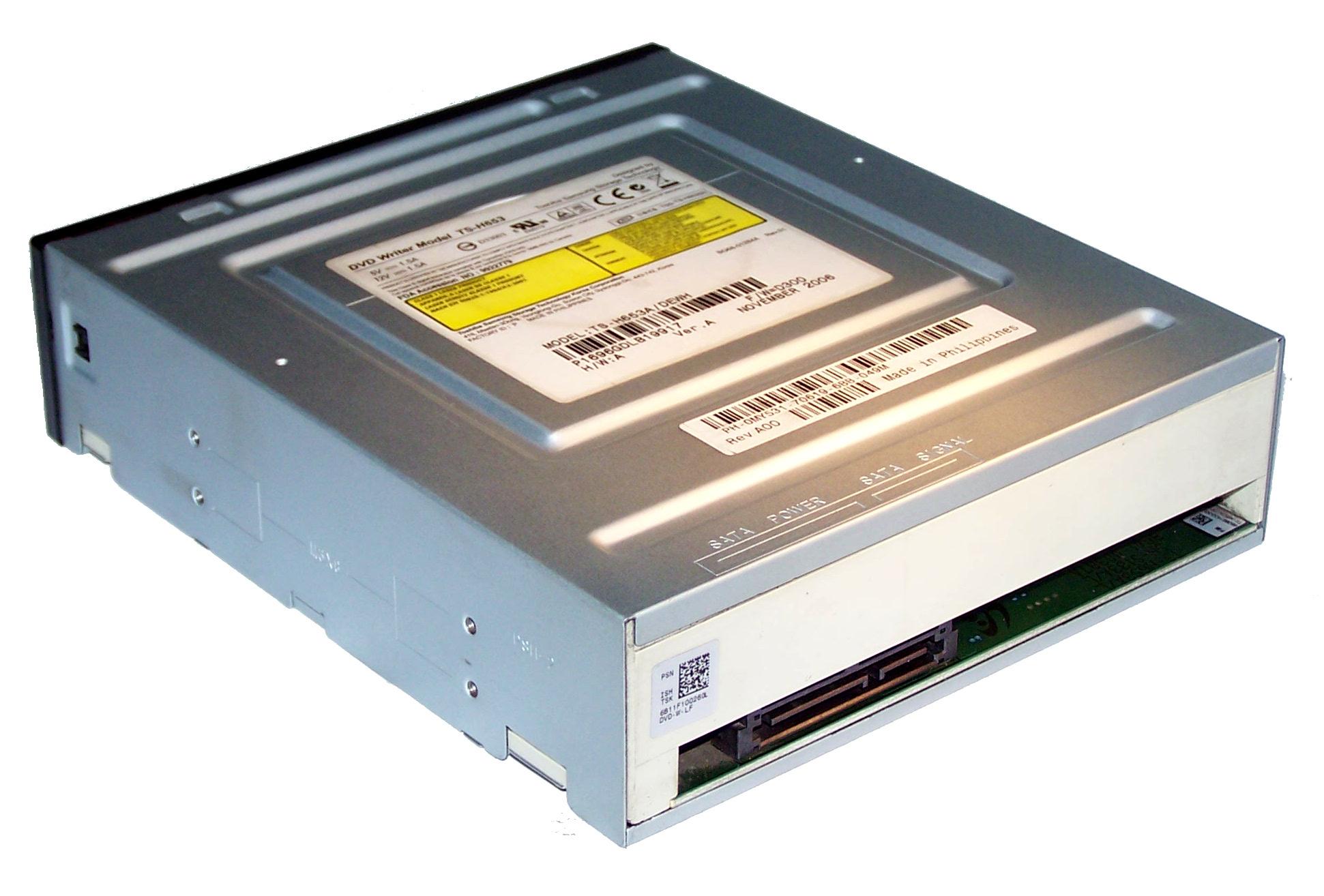 Dell MY531 SATA DVD-RW Drive With Black Bezel | TS-H653 Thumbnail 2