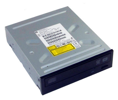 HP 575781-801 Black Bezel SATA H/H DVD DL Recorder Drive | GHB0N SPS 690418-001 Thumbnail 1