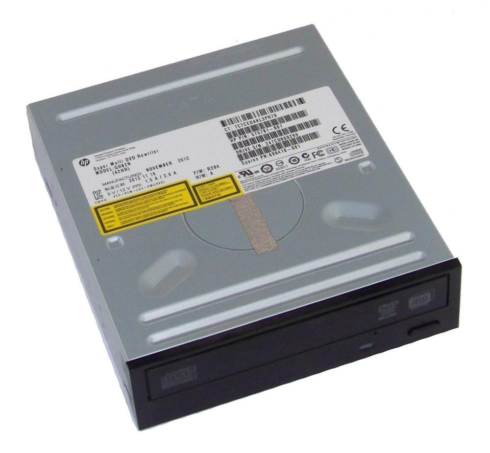 HP 575781-801 Black Bezel SATA H/H DVD DL Recorder Drive | GH82N SPS 690418-001