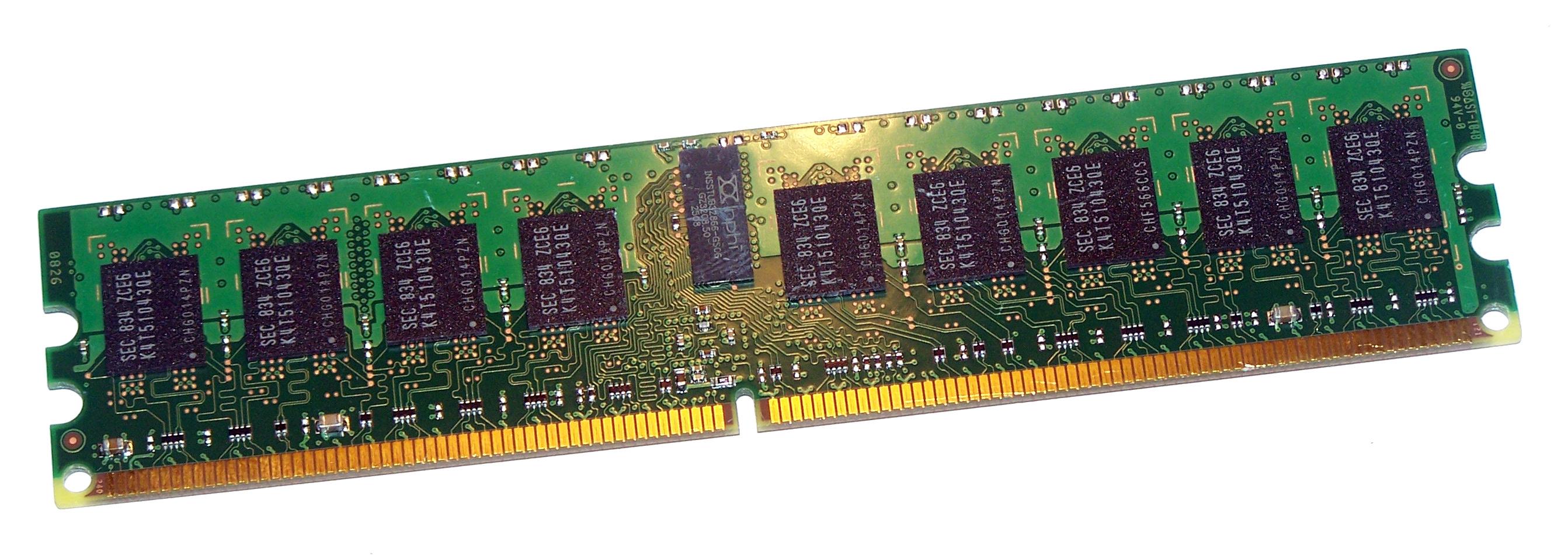 Lot of 4 SUN 370-6208-01 1GB 1Rx4 PC2-5300P 667MHz DDR2 ECC Server Memory