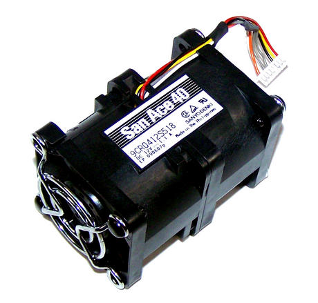 Sanyo Denki 9CR0412S518 San Ace40 SR1400 12VDC 1.1A 7-Wire Fan