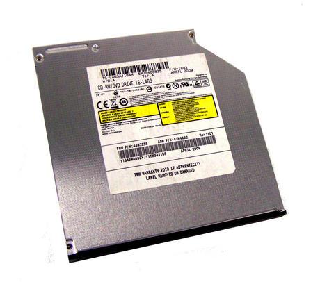 IBM 43W4632 X3550 M2 SATA DVD-ROM/CD-RW Drive | TS-L463A/IBAH FRU 44W3255