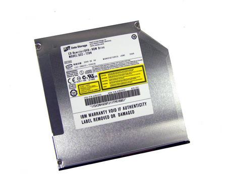 IBM 43W4630 X3550 M2 SATA Slimline DVD-ROM/CD-RW Drive | GCC-T20N FRU 44W3255
