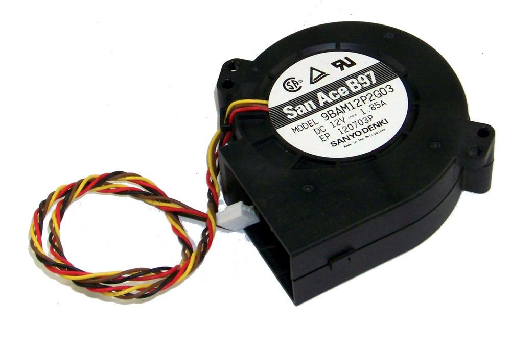 SanyoDenki 9AM12P2G303 SanAceB97 12VDC 1.85A 1U Blower 4Pin 47054 Connector 42cm