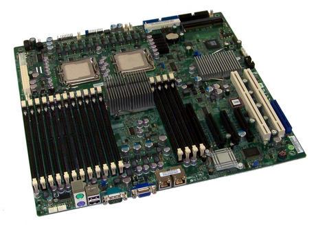 SuperMicro X7DWN+ Rev 1.1 Dual Socket J LGA771 Enhanced Extended ATX Motherboard