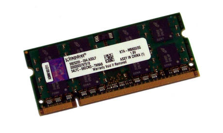 Kingston KTA-MB800/2G (2GB DDR2 PC2-6400S 800MHz SO DIMM 200-pin) Memory Module