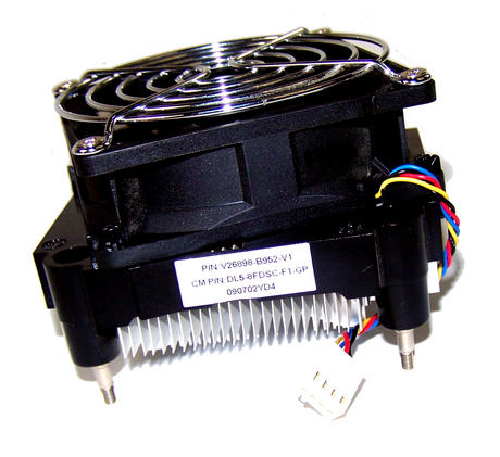 Fujitsu V26898-B952-V1 Esprimo P2540 SFF Socket AM2 CPU Heatsink and Fan