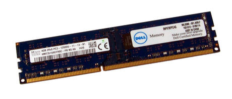 Dell SNPVT8FPC/4G (4GB DDR3 RAM PC3-12800U 1600MHz DIMM 240-pin) Memory   Hynix