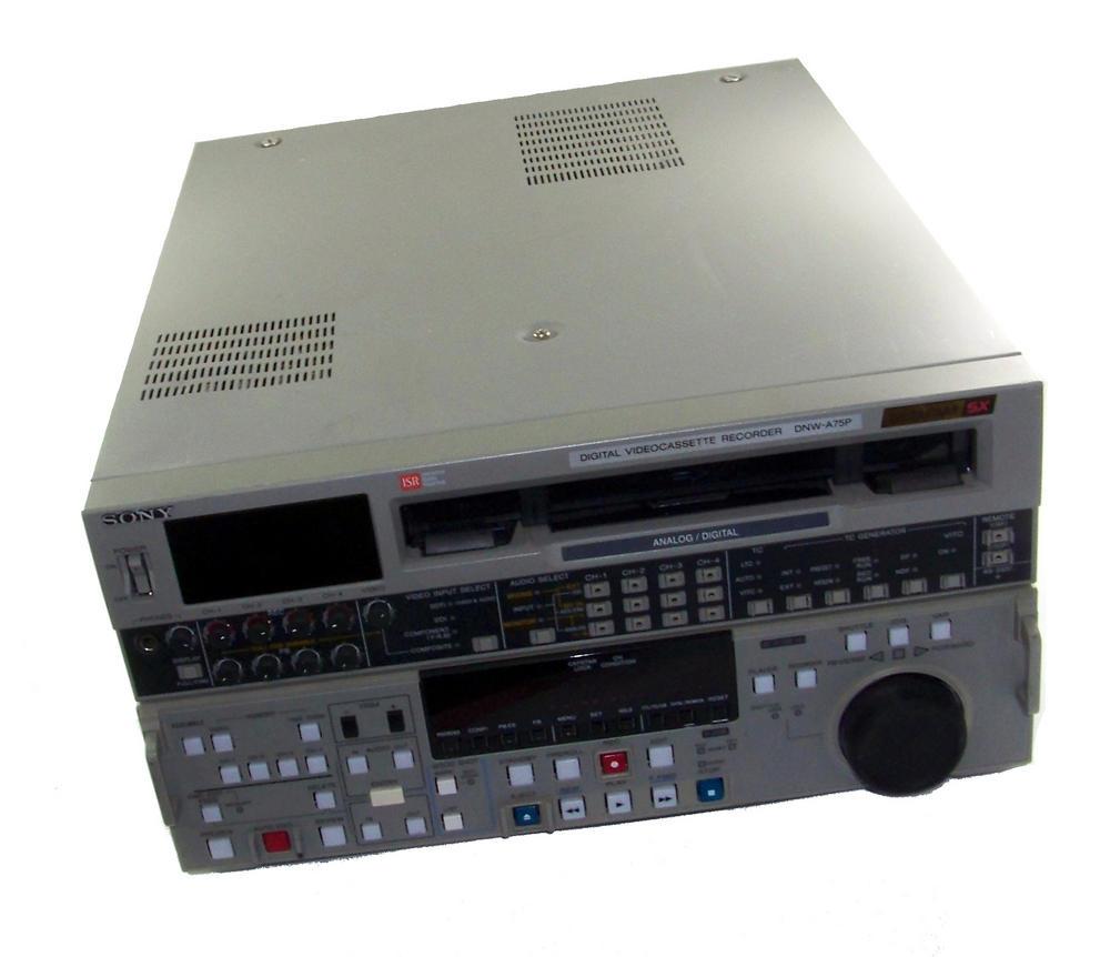 Sony DNW-A75P Betacam SX Digital Videocassette Recorder