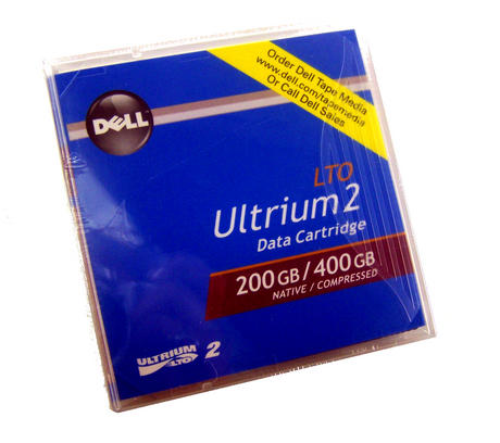 New Dell N0439 Ultrium2 200/400GB Native/Compressed Data Cartridge | 0N0439