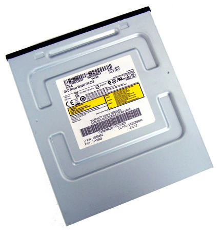 IBM 71Y5545 Black Bezel SATA H/H DVD DL Recorder Drive | Model SH-216 Thumbnail 1