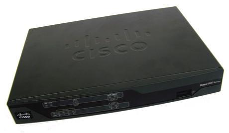Cisco 881-K9 V01 800 Series Ethernet Security Router | P/N 341-0135-03