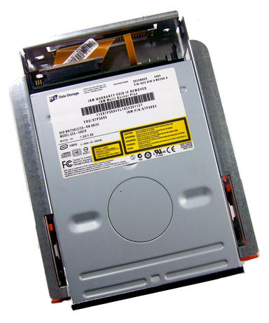 IBM 97P3694 DVD Writable/CD-RW Drive | Model GSA-4082B FRU 97P3695 w/caddy