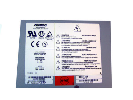 Compaq 169489-001 ProLiant 3000 5500 750W PS4060 Power Supply | SPS 169286-001 Thumbnail 2