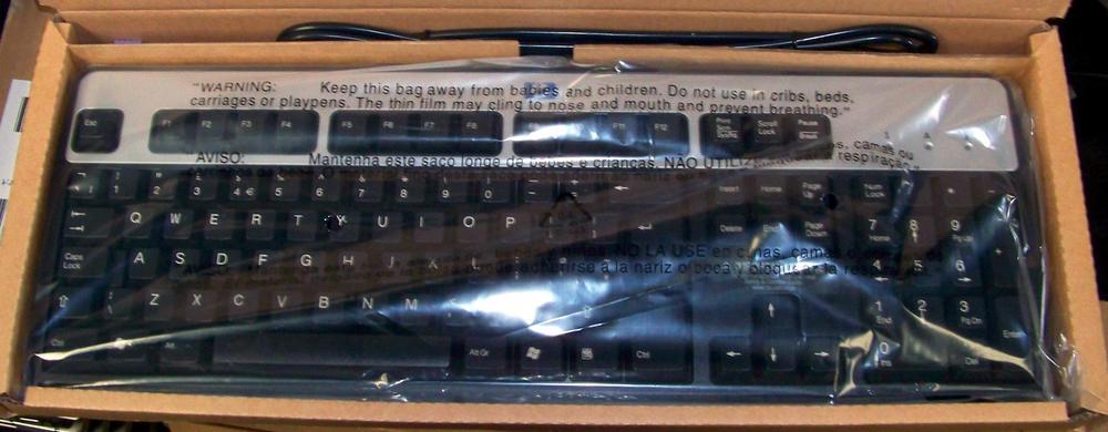 New HP 352750-031 PS/2 UK Keyboard | SPS 355630-031