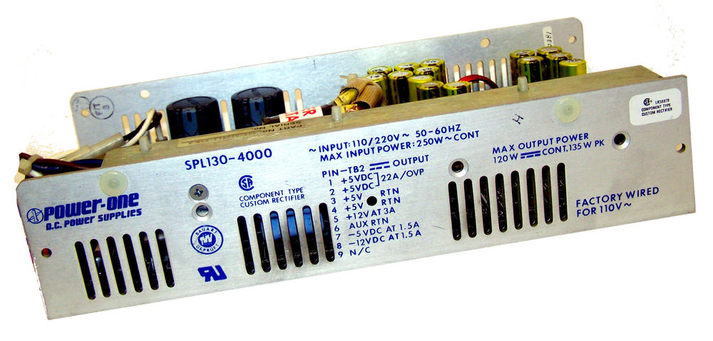 Power-One SPL130-4000 Power Supply