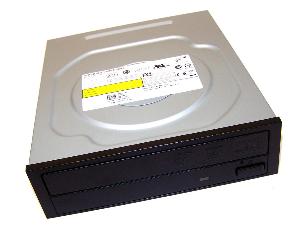 Dell J7X2N SATA H/H DVD DL Recorder Drive | DH-16ABS12B Black Bezel