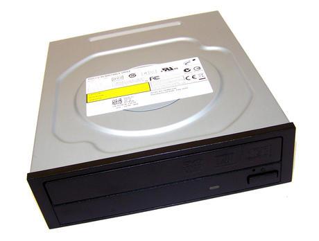 Dell J7X2N SATA H/H DVD DL Recorder Drive | DH-16ABS12B Black Bezel Thumbnail 1