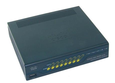 Cisco ASA5505-SEC-BUN-K9 V03 Adaptive Security Applicance Firewall no AC Adapter