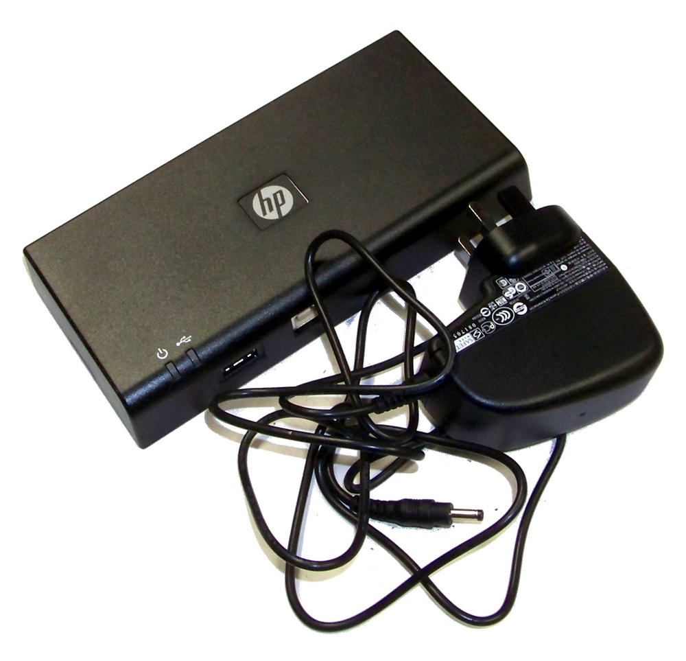 HP 589100-001 USB Docking Station with AC Adapter | SPS 589144-001