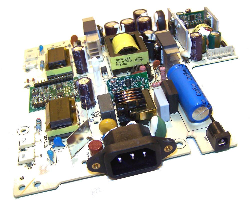 Dell E131175 1708FPF Power Supply Board | 490821400100R TC18675D QLPI-016 REV=A