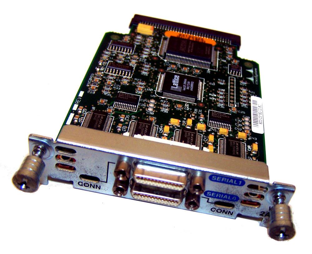 Cisco 800-03182-02 B0 Interface Card Dual Serial-Port