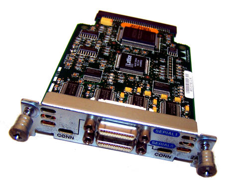 Cisco 800-03182-02 B0 Interface Card Dual Serial-Port