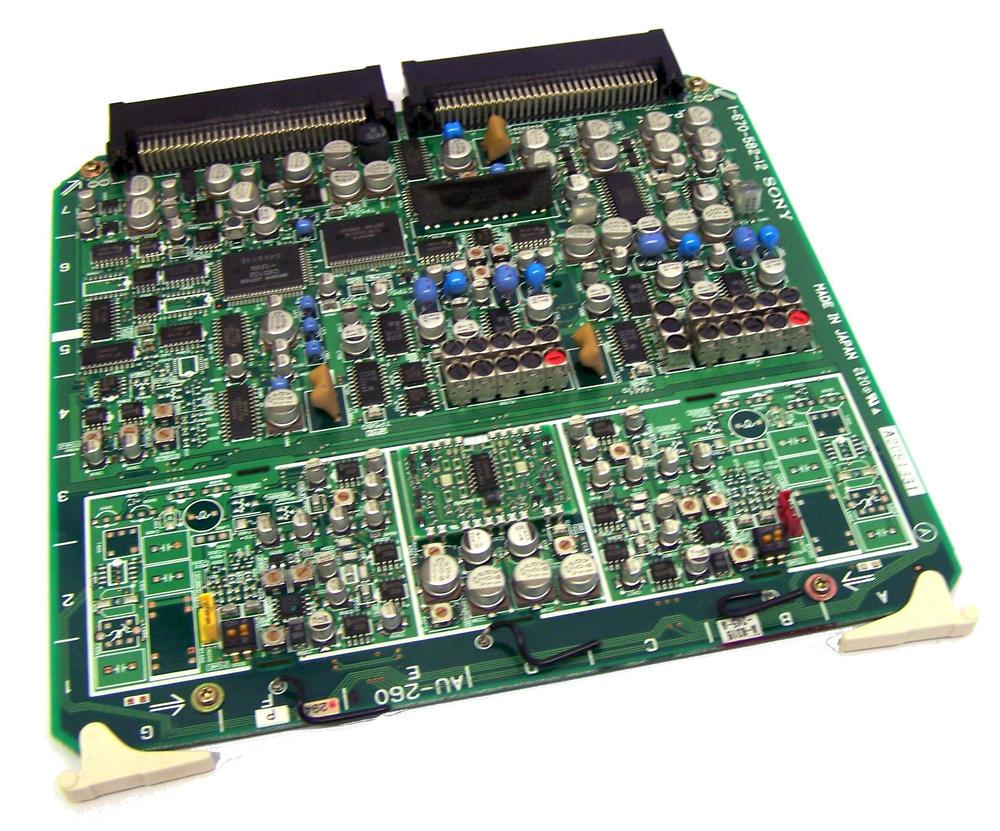 Sony AU-260 DNW-A65P Betacam SX Board | 1-670-582-12