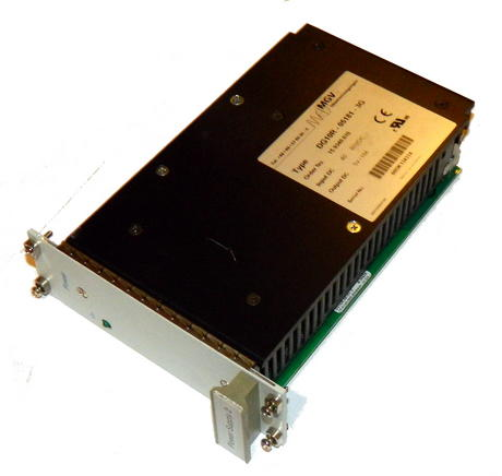 "MGV DG10R-05181-3G 19"" Rack Industrial 40..80VDC > 5VDC 18A DC DC Converter"