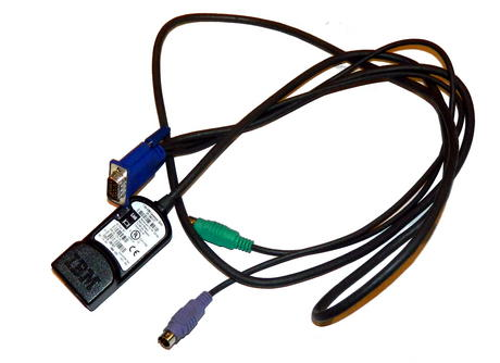 IBM 26K4177 Avocent 520-278-010 1.5m KVM PS/2 Conversion Cable | FRU 32P1654