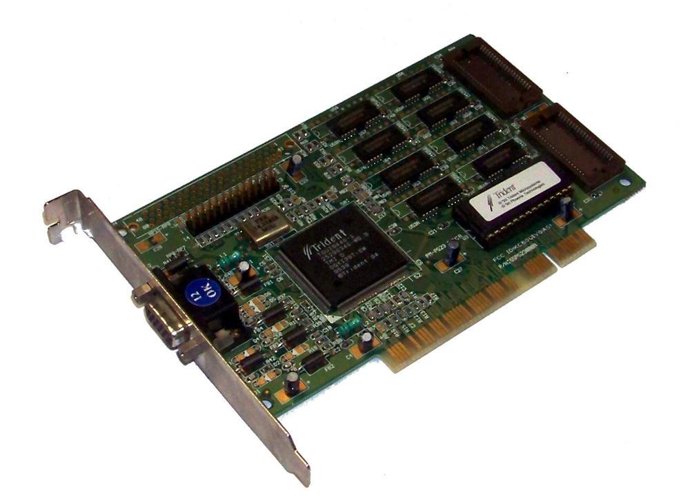 Palit 55P5230000A 512KB Trident TGUI9440 PCI Graphics Card