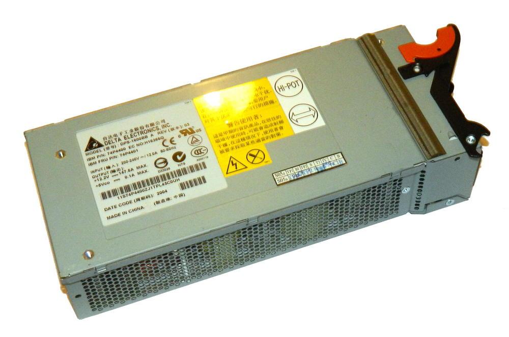IBM 74P4400 BladeCenter 1800W AC Power Supply | FRU 74P4401 Delta DPS-1600BB A