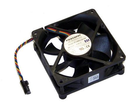 Dell DW014 OptiPlex 990 model D05D DT Front Fan   0DW014 Foxconn PVA080G12H Thumbnail 1