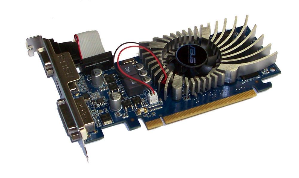 Asus EN210/DI/512MD3/V2(LP) GeForce 210 512MB PCIe X16 Graphics Card DVI+VGA+HDM