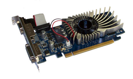 Asus EN210/DI/512MD3/V2(LP) GeForce 210 512MB PCIe X16 Graphics Card DVI+VGA+HDM