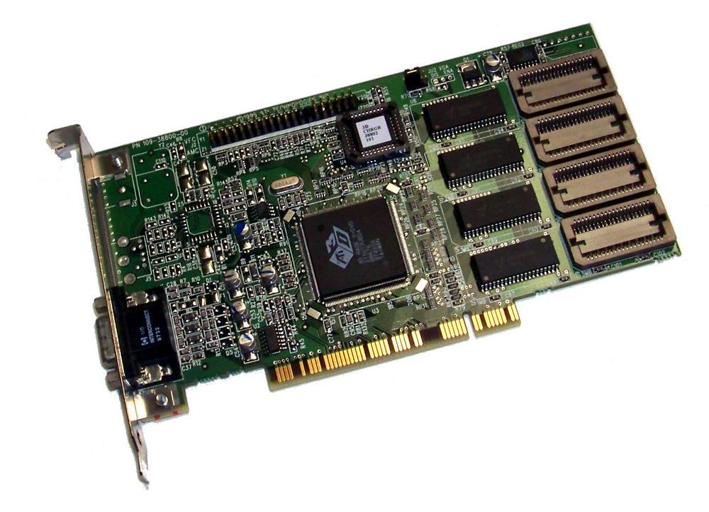 ATi 1023880700 PCI 3D Rage II+DVD Graphics Card