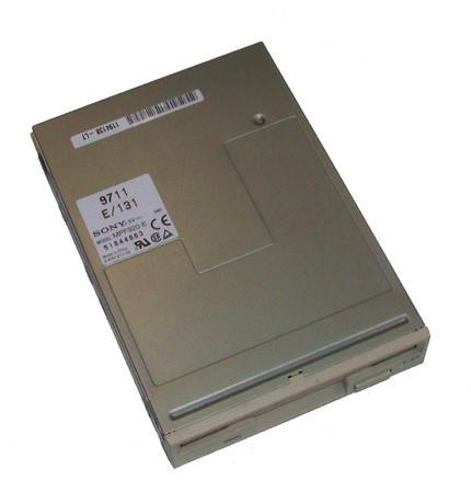 """Sony 4-634-211-02 MPF920 3.5"""" 1.44MB Floppy Drive with Cream Bezel MPF920-E/131"""