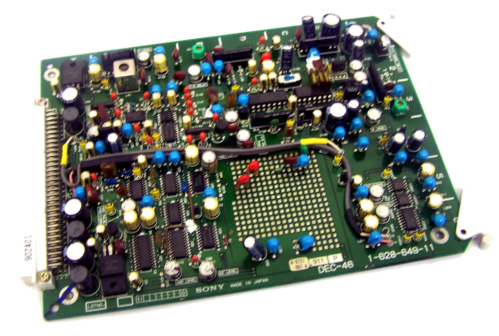 Sony DEC-46 Video Cassette Recorder BVW-75P Board | 1-628-649-11
