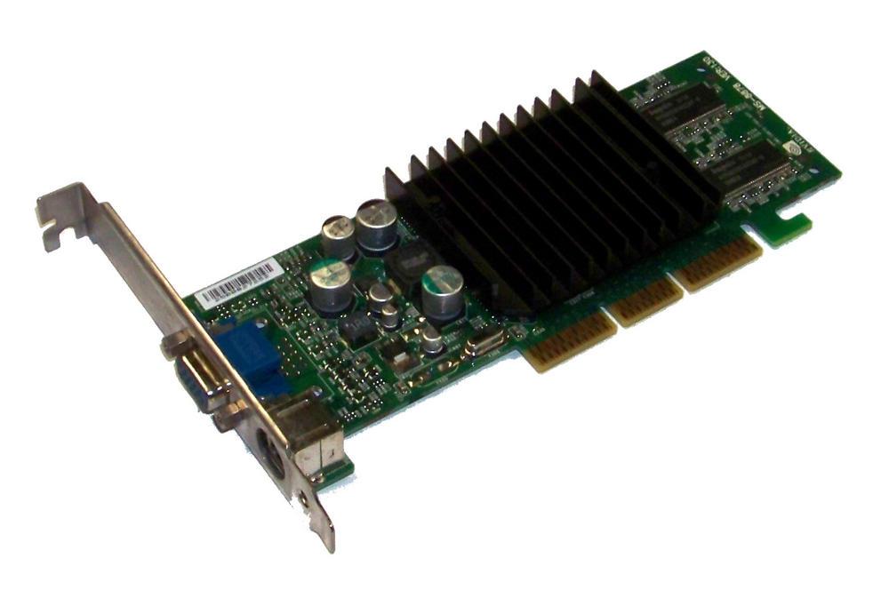 Dell 5H175 MSI MS-8826 GeForce 4 MX420 64MB AGP Graphics Card VGA/TVO | 05H175