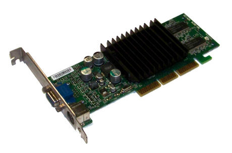 Dell 5H175 MSI MS-8826 GeForce 4 MX420 64MB AGP Graphics Card VGA/TVO | 05H175
