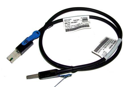 IBM 44V4041 1.0M SFF-8088 External Mini SAS Cable Thumbnail 1