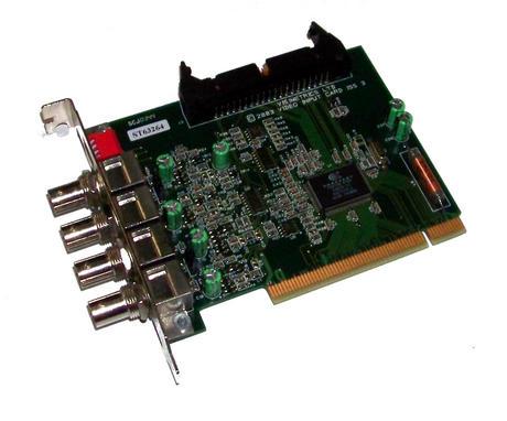 Visimetrics Video Input Card Iss 3 PCI  4x BNC Video Input Card