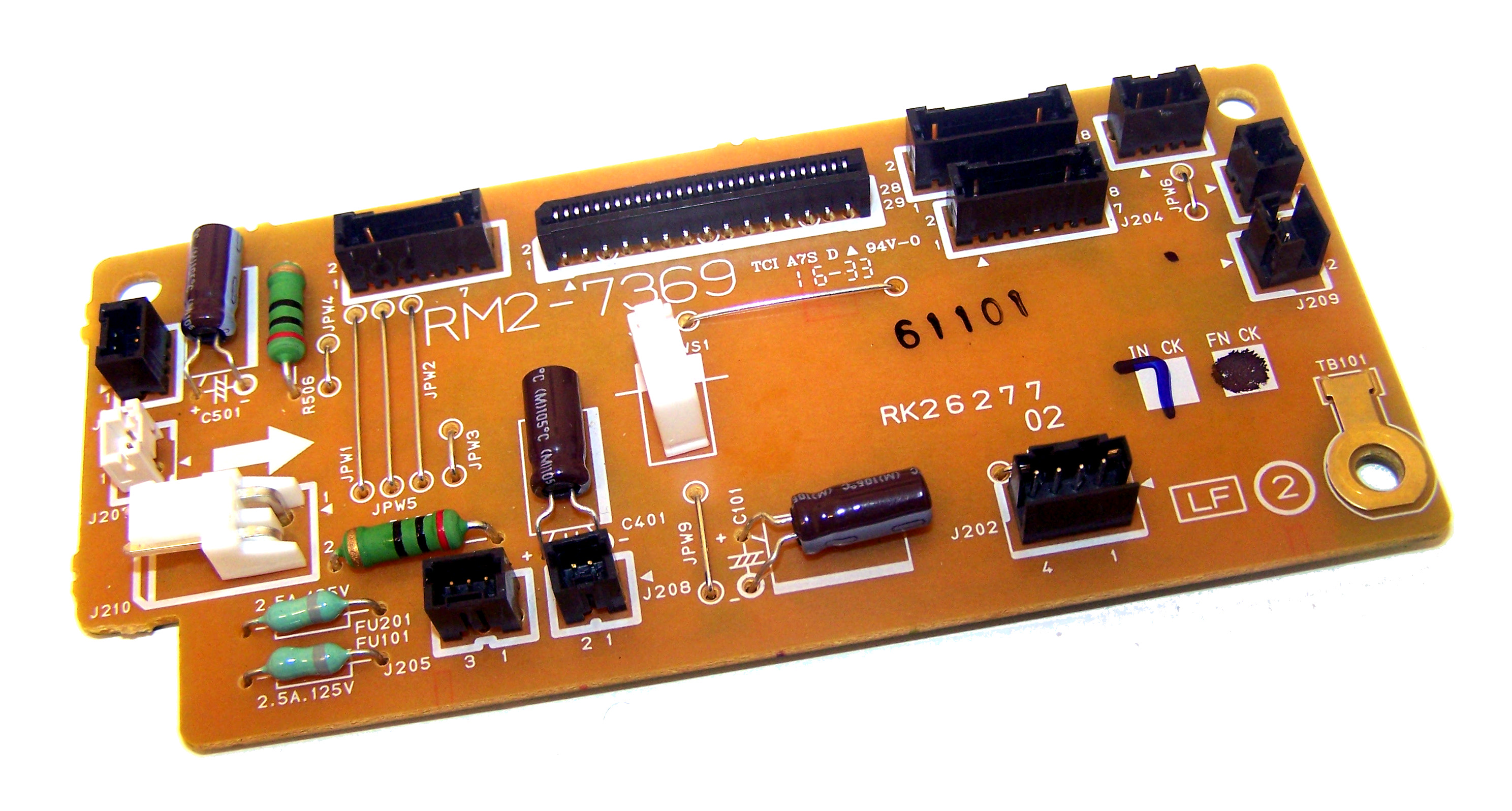 HP Driver PC board assembly RM2-7369-000CN