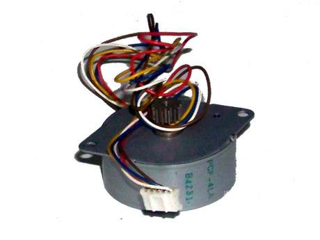 Panasonic PCF-4LA B4231 24V 5-Wire Stepper Motor for KX-FP141