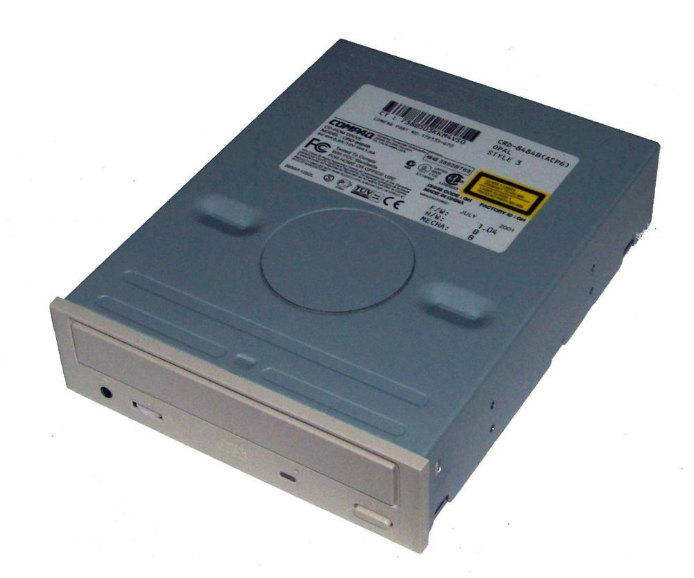 Compaq 176135-670 ATA H/H CD-ROM Drive with Opal Bezel Model CRD-8484B(ACP6)