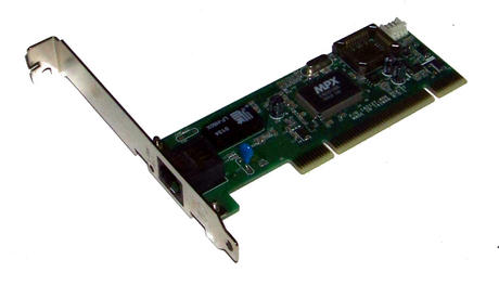 Compaq 233339-001 PCI 1-Port 10/100 Ethernet Card | SPS 227955-001 Std Profil Thumbnail 1