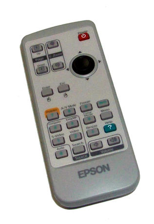Epson 129175400 EMP-S3 Projector Remote Control Thumbnail 1