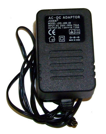 Joden JOD-48B-09 7.5VDC 1A UK Adapter with Barrel Connector Thumbnail 2