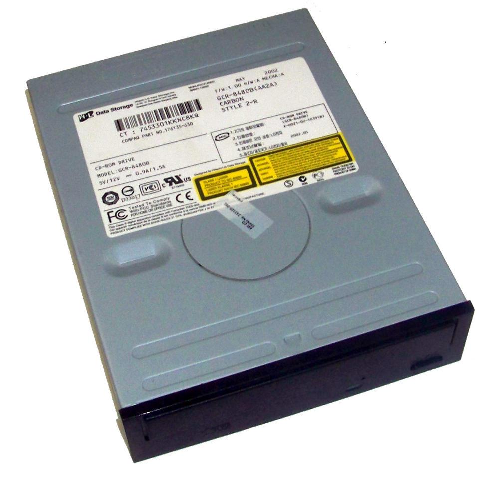 Compaq 176135-630 ATA H/H CD-ROM Drive with Carbon Bezel Model CRD-8480B(AA2A)