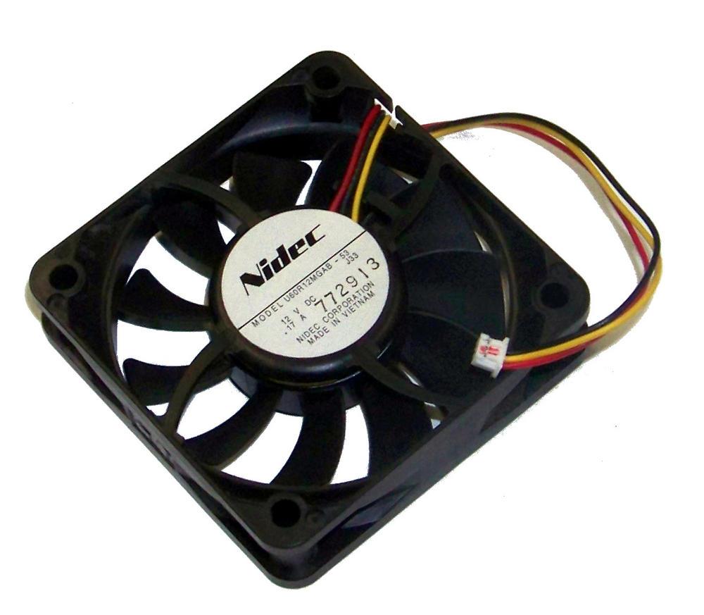 Nidec U60R12MGAB-53 Epson EMP-X5 Power Supply Fan 12VDC 0.17A 3-Wire